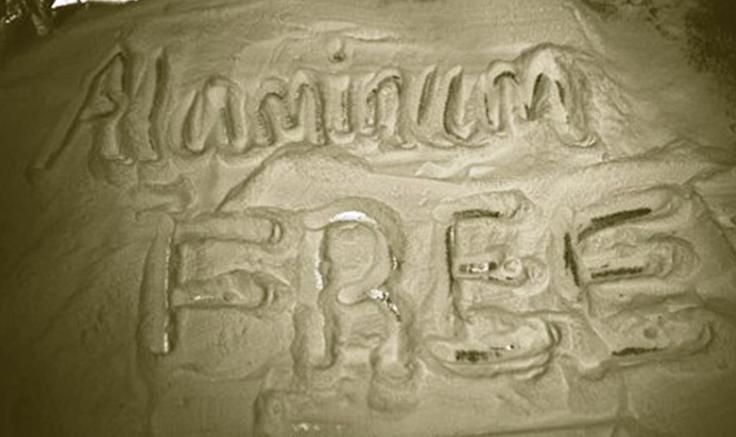 De l'aluminium dans mon bicarbonate ?