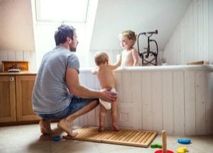 Un bain plus doux pour bébé