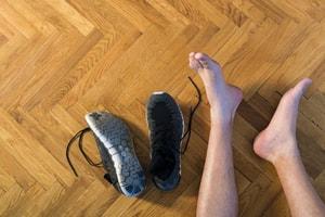 Odeurs de pieds (bains de pieds)