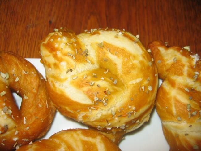 Les Bretzels et le bicarbonate