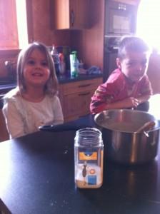 Amusez vos enfants avec le bicarbonate !